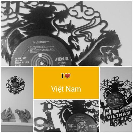 Đồng hồ đĩa than Việt Nam