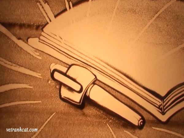 Cây bút 2 người thường dùng trao đổi trong tiết học